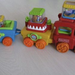 Train, Fun FisherPrice drum