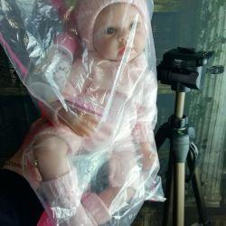 Papusa nou-nascuta, 55cm, greutate 1300