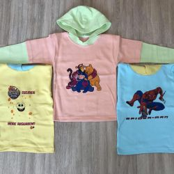 Knitted sweater for children