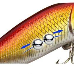Δόλωμα για ψάρεμα Popper 3D μάτια Νέα