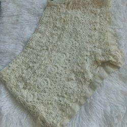 Ажурные шорты от Zara