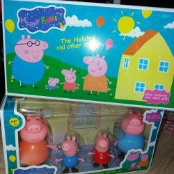 Peppa Pig Family.