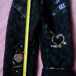 Ζεστό παντελόνι για κορίτσι