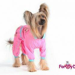 Αδιάβροχο ροζ (ρούχα για σκύλους)