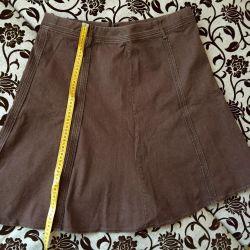 Юбка новая из США, джинсовая. 52-54
