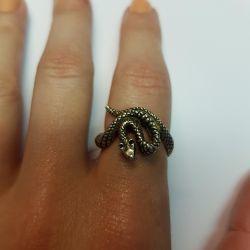 Кольцо. Серебро 925 проба.