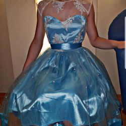 Dress new with beads, evening, prom
