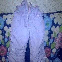 Children's winter suit