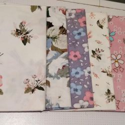 NEW patchwork fabric (6 pieces)