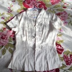 Γυναικεία πουκάμισο με κοντό μανίκι