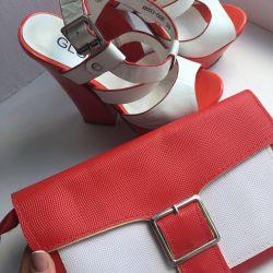 Sandale folosite și ambreiaj ca un cadou 🔥