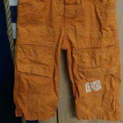 Dimensiunea pantalonilor 86