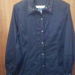 Неформальная женская рубашка р.50-52