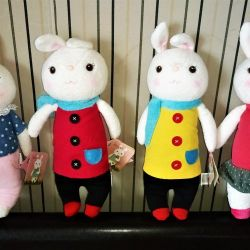 plush hares girls and boys