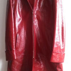 The coat is genuine leather, with a 46.4-50 undercoat.