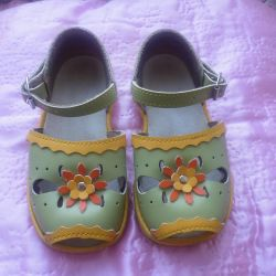 vintage sandals for baby