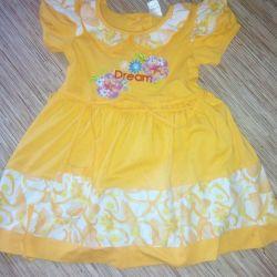 Φόρεμα για 2-4 χρόνια, νέα κατάσταση