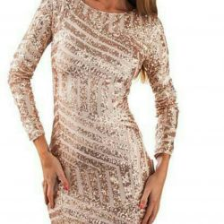 Tunic, tunic dress with paillettes