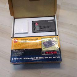 PS2208b compex 8-port 100mbit comutator aproape nou