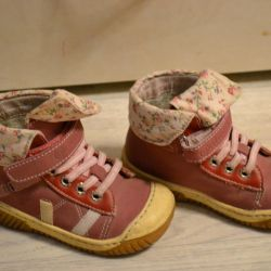 Shoes-sneakers from natur.kozhi