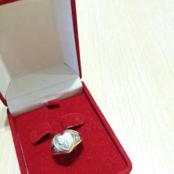 δαχτυλίδι ασημένιο βόρειο κινητό σελ. 17.5