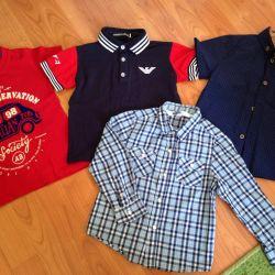 Gömlekler, Tişörtler