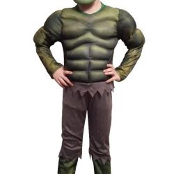 Carnival Costume Hulk with musculature