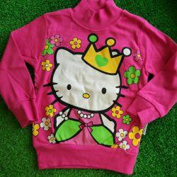 Jacket turtleneck child girl