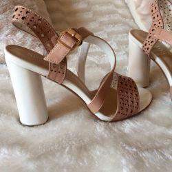 Sandals new beige