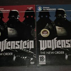 WOLFENSTEIN (game on 4 double-sided discs)