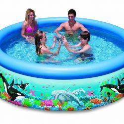 Εύκολη πισίνα με ωκεάνια νερά