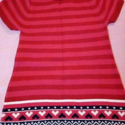 Dress knitted fabric.