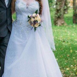 Свадебное платье 52-56 с доставкой