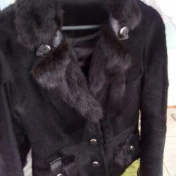 Pony and Mink Fur Coat