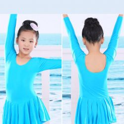 New gymnastic swimsuit with skirt