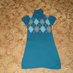 Dress Harlequin Sweater, color Lagoon