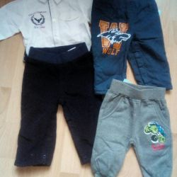 Trousers (3-6m) new