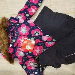 Mevcut !!! kız için takım elbise kış