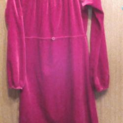 Rochie de culoare elegant de vin