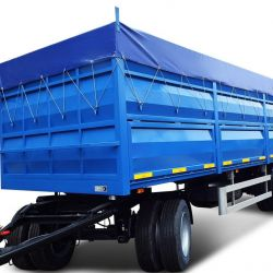Remorcă pentru transportul cerealelor cu 3 osii 2018