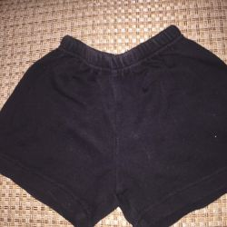 Children's shorts for physical education and Czech