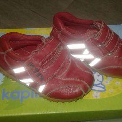 Spor ayakkabı (doğal deri)