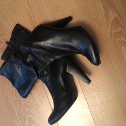 Boots genuine leather Spring-Autumn