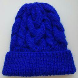 Örme şapkalar, el yapımı