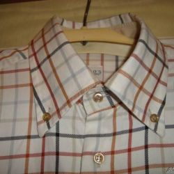Shirt husband. 64 size Italy Collar 42-43 New