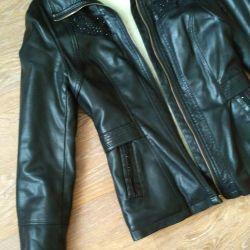 Jacket spring leatherette