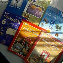 Manuale, notebook notebook, clasa 6.