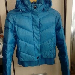 Jacket for down Columbia. Winter.