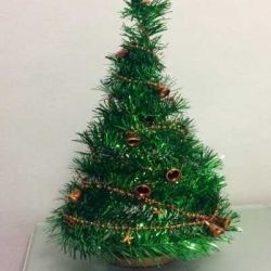 Новогоднее украшение: ёлка. Обмен.
