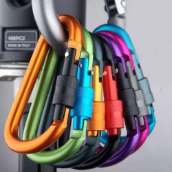 Carabiners for hiking and tourism
